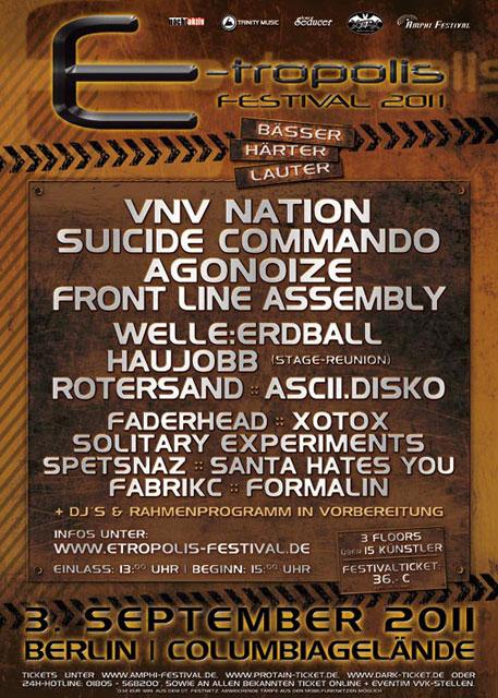 E-tropolis Festival