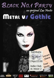 Black No.1 Party: Metal vs. Goth