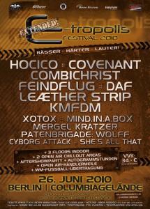E-Tropolis Festival 2010: the clock is ticking!