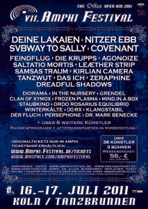 4 New Bands Confirmed at Amphi Festival 2011