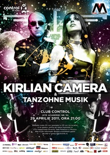 Post image for Latest news about Kirlian Camera concert in Bucharest – 2 days to go!