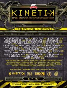 Kinetik Festival 2011: News