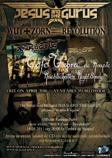 Post image for Umbra de Noapte Jesus and the Gurus Official Release Party May-14