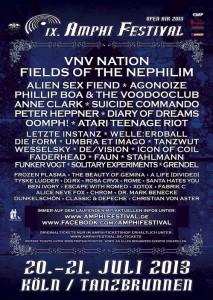 Amphi 2013 Flyer