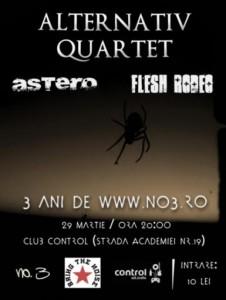Concert aniversar no.3 in Club Control pe 29-martie