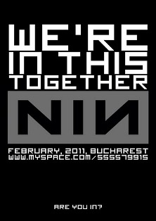 Nine Inch Nails live tribute in Bucharest, Club Fabrica, on February 12, 2011
