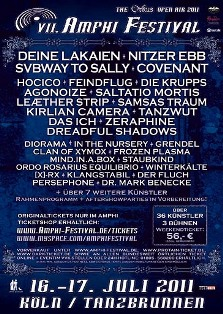 Amphi festival 2011 press release: date, tickets, bands