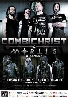 Combichrist in Romania, March 1, 2011